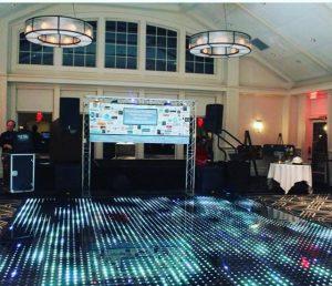 LED Dance Floor Rentals in Bay City MI